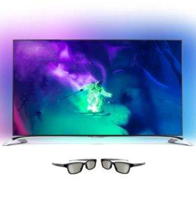 4K UHD 3D LED-телевизор Philips 55PUS9109