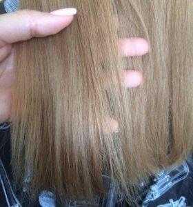 Полировка волос+подравнивание+уход