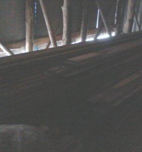 Доски для обрешётки потолка