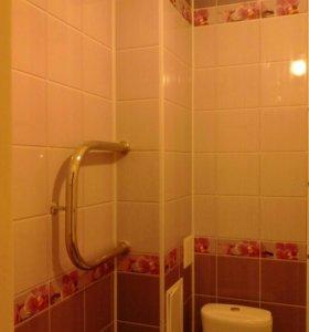 Красивая отделка ванной и туалетной комнаты