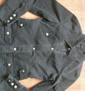 Джинсовой пиджак 44-46