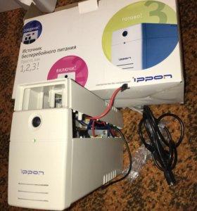 Ибп бесперебойник ippon back power pro 500