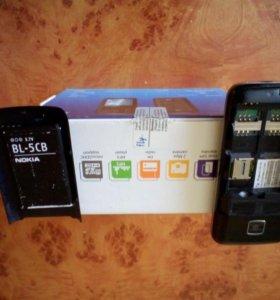 Телефон fly DS185 на 2 сим карты и microSDHC