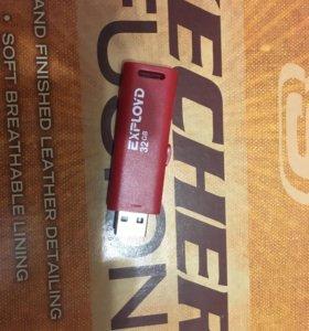 USB флешка 32 Гбайт они совсем новые