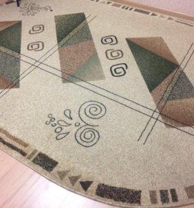 Напольный ковёр овальный
