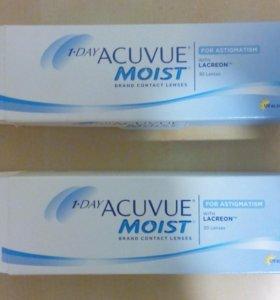 Контактные линзы 1-day Acuvue ( for astigmatism)