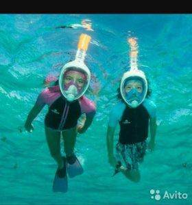 Лучшая маска для плавания