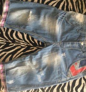 джинсы шорты