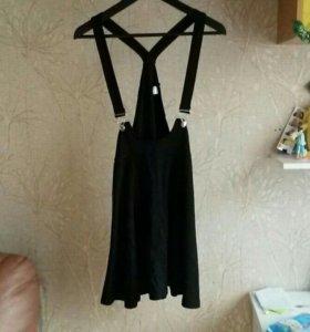Юбка платье сарафан на лямках HM H&M