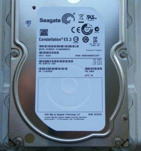 Продам жесткий диск seagate 4 tb, новый