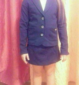 Пиджак и юбка гуливер