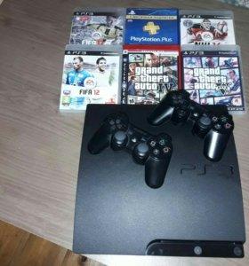 PlayStation-3-320GB(Оригинальная,не прошитая)