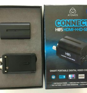Hdsdi to hdmi atomos и наоборот.