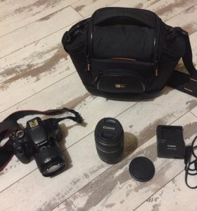 Продам фотоаппарат Canon 600d+18-55kit+75-300