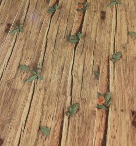 Ламинат 33 Класс 12 мм глянцевый цветок