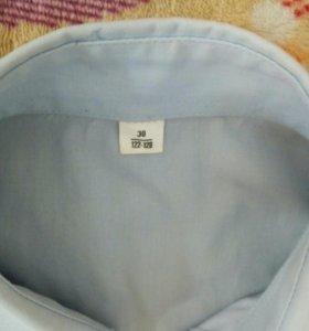 Рубашка рост 122-128