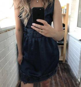 Атласное платье / очень красивое