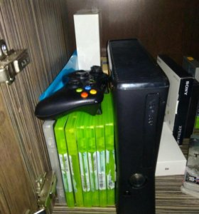 Xbox + 7 игр