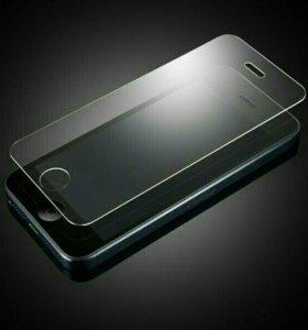 Закалённое стекло на iPhone 5/5s