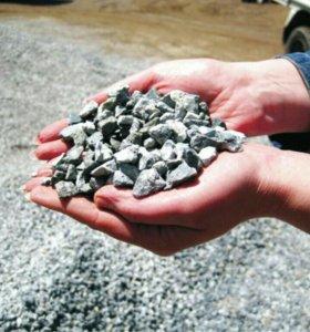 Щебень, песок, вывоз мусора