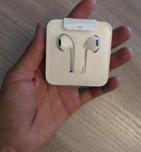 Оригинальные наушники от iPhone 7+! Торг.