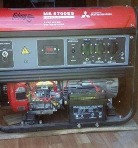 Бензо генератор fubog MITSUBISHI MS 5700 ES