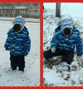 Детский костюм, зима