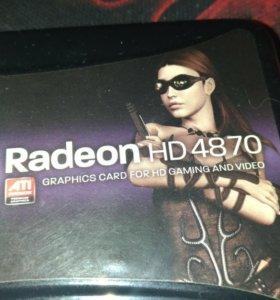 Видеокарта Radeon hd 4870 1gb