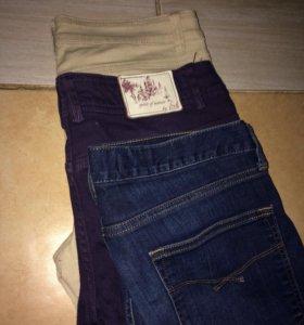 Штаны, джинсы женские