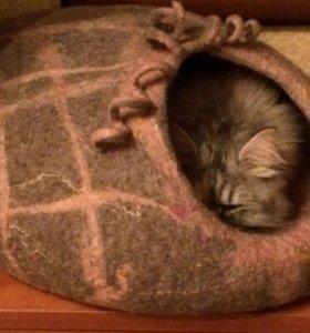 Домик шерстяной для кошки/собачки