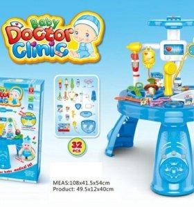 """Детский игровой набор """"Доктор"""",новый в упаковке."""