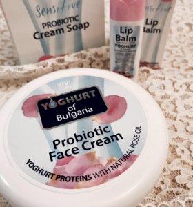 Крем- пробиотик для лица Йогурт, Болгария