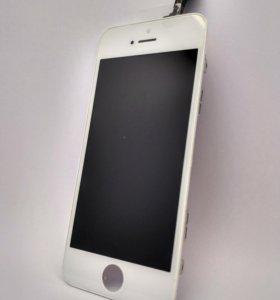 Дисплей IPhone 5s (белый)