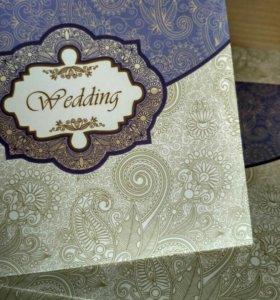 упаковка для свадебных сд/двд