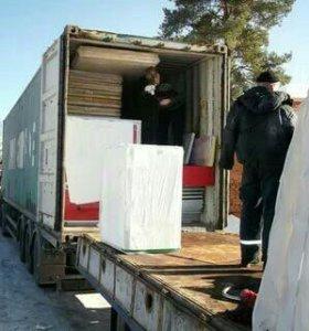 Разгрузка--погрузка контейнеров, машин.