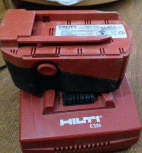 Hilti аккумулятор, зарядное, кейс