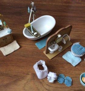 Ванная комната из серии sylvanian famalies
