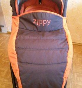 Коляска zippy new 2 в 1