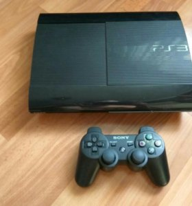 Sony PS3 (500GB) Super Slim + Диски