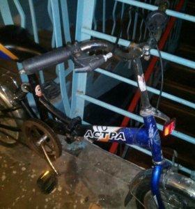 Астра подростковый велосипед