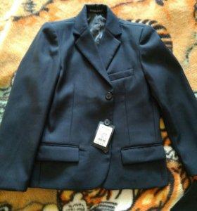 Пиджак и жилет школьный