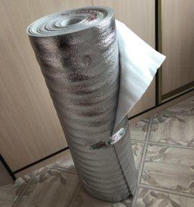 Подложка под ламинат с фольгой толщина 5 мм, 15 м