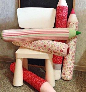 Валики - подушки Карандаши
