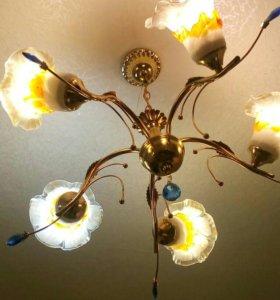 Люстра на 5 ламп