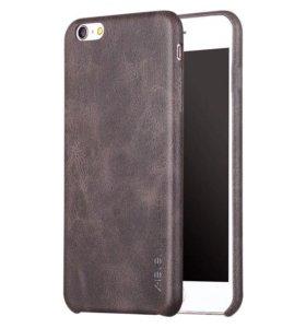 Кожаный чехол x-level для iPhone 6s новый