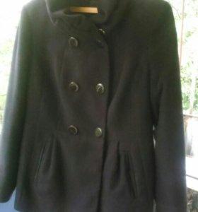 Пальто 50%шерсть