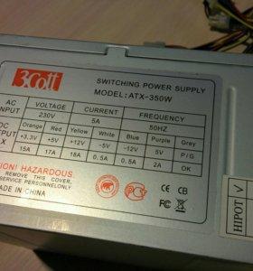 Блок питания 3Cott ATX-350W