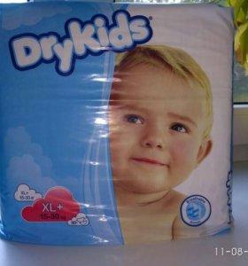 Подгузники Drykids xl+