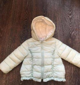 Куртка для девочки  80 р.