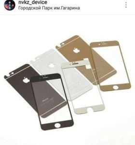 Матовое защитное стекло Iphone